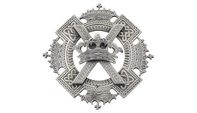 VSS649 | c.1865. Silver. A Celtic Revival Plaid Brooch