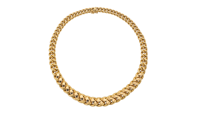 VSS385 | French. C20th. An 18ct Gold Necklace